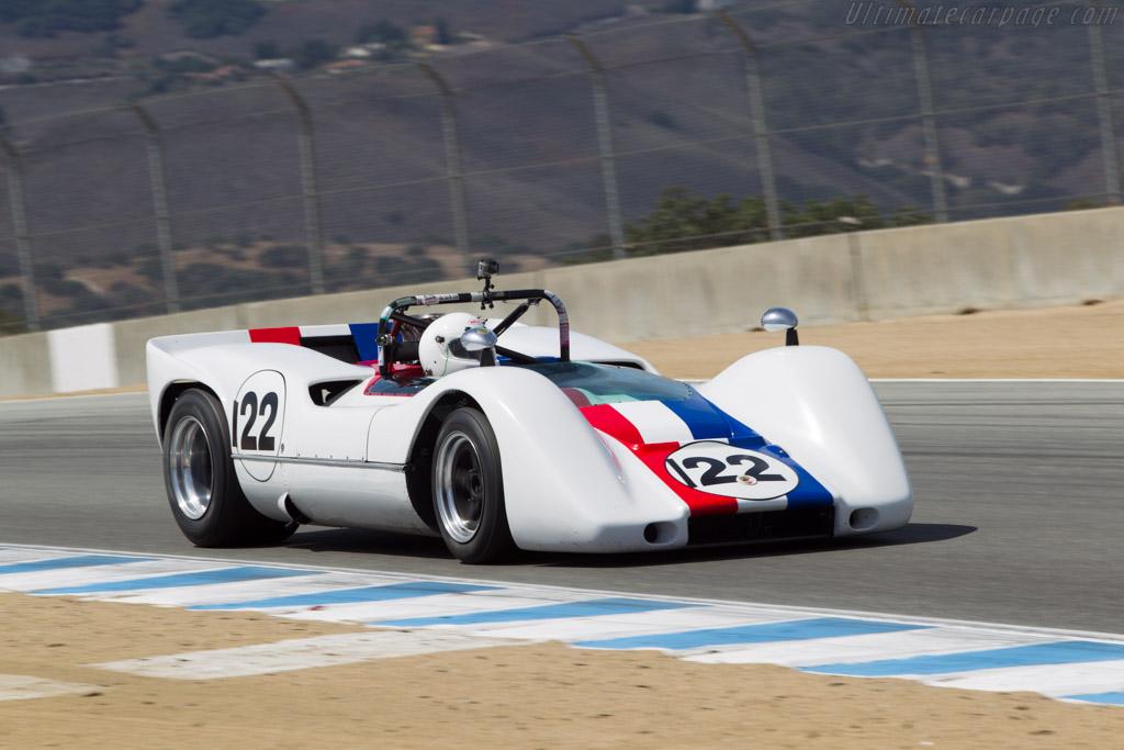 McLaren M6B Chevrolet - Chassis: 50-06 - Driver: Robert Bodin  - 2014 Monterey Motorsports Reunion