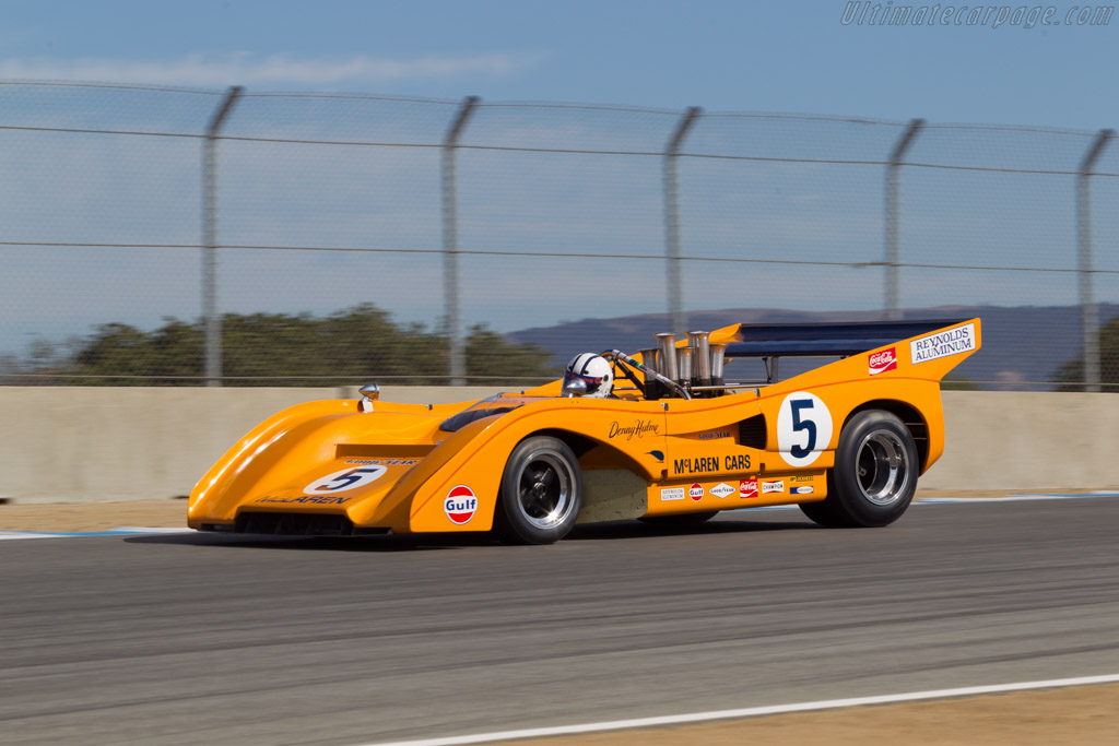 McLaren M8F Chevrolet - Chassis: M8F/2 - Driver: Chris MacAllister  - 2014 Monterey Motorsports Reunion