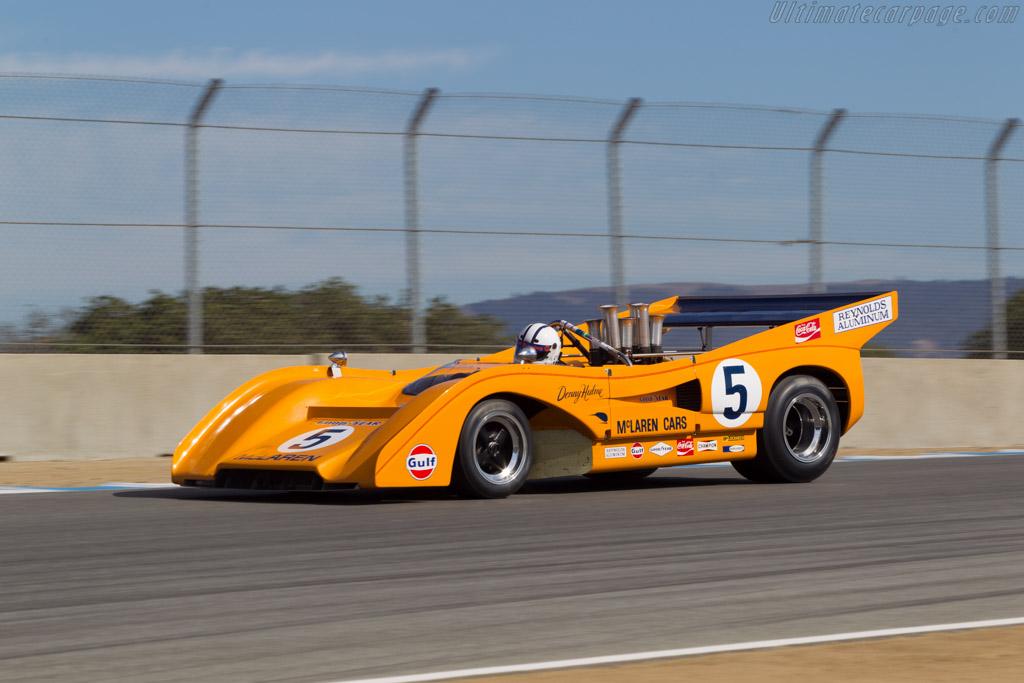 McLaren M8F Chevrolet - Chassis: M8F/2 - Driver: Chris MacAllister  - 2014 Monterey Motorsports Reunion