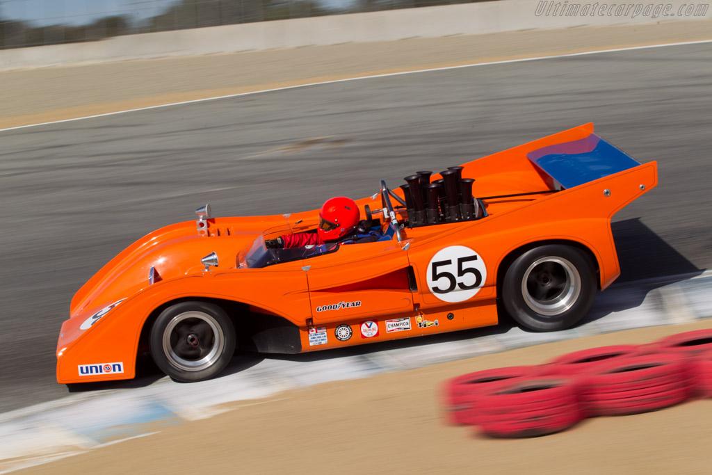 McLaren M8FP Chevrolet - Chassis: 1-72 - Driver: Robert Kauffman  - 2014 Monterey Motorsports Reunion