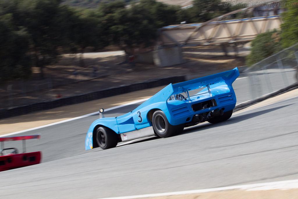 McLaren M8FP Chevrolet  - Driver: Rick Knoop  - 2014 Monterey Motorsports Reunion