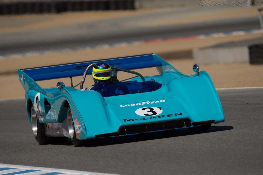 McLaren M8FP Chevrolet - Chassis: 8-72 - Driver: Jim Stengel  - 2014 Monterey Motorsports Reunion