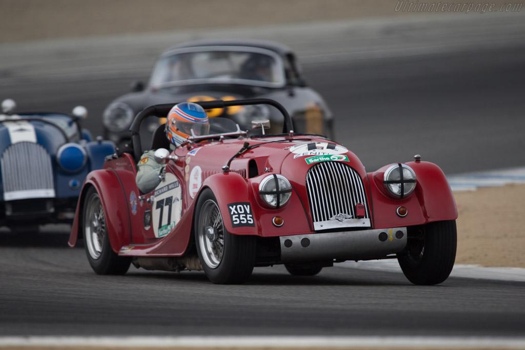Morgan +4  - Driver: Adrian van der Kroft  - 2014 Monterey Motorsports Reunion