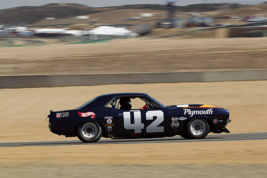 Plymouth 'Cuda    - 2014 Monterey Motorsports Reunion