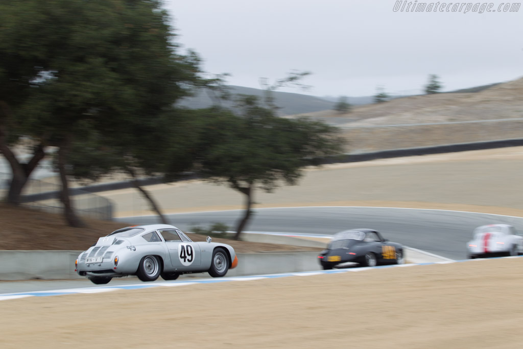 Porsche 356 B Carrera Abarth GTL - Chassis: 1016 - Driver: Ranson Webster  - 2014 Monterey Motorsports Reunion