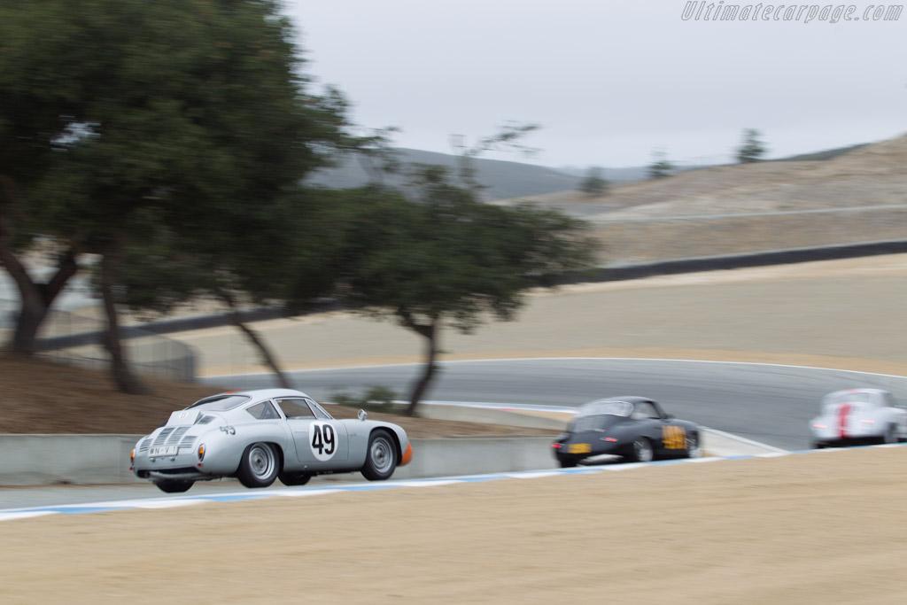 Porsche 356 B Carrera Abarth GTL - Chassis: 1016 - Driver: Ranson Webster  - 2014 Monterey Motorsports Reunion