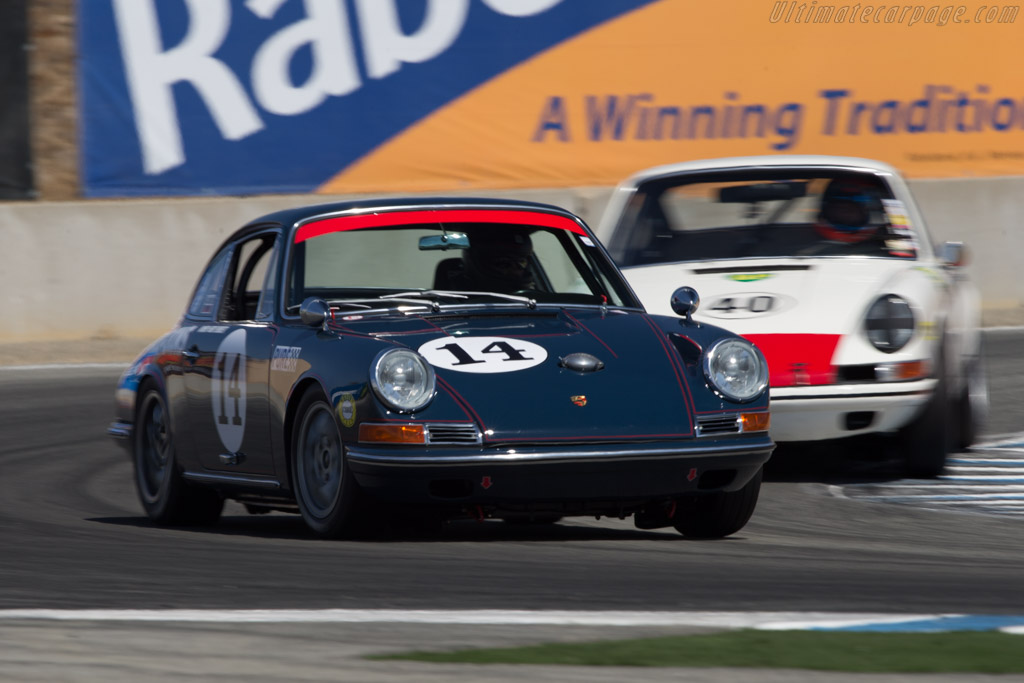 Porsche 911 - Chassis: 308050 - Driver: Don Ahearn  - 2014 Monterey Motorsports Reunion