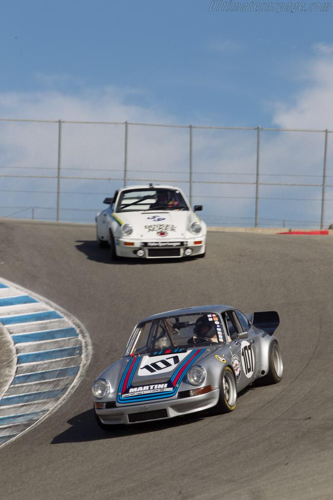 Porsche 911 Carrera RSR  - Driver: Jim Calzia  - 2014 Monterey Motorsports Reunion