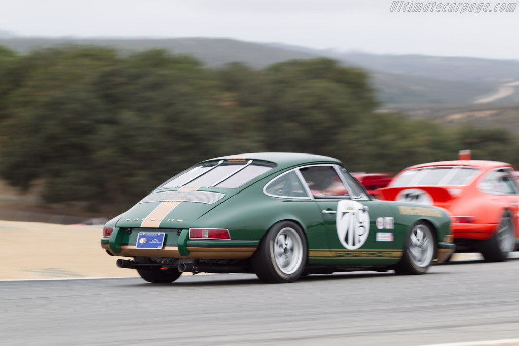 Porsche 911 S - Chassis: 308505 - Driver: George Calfo  - 2014 Monterey Motorsports Reunion