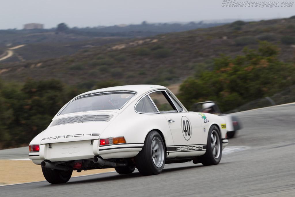 Porsche 911 T/R - Chassis: 118 20 1180 - Driver: Alan Terpins  - 2014 Monterey Motorsports Reunion