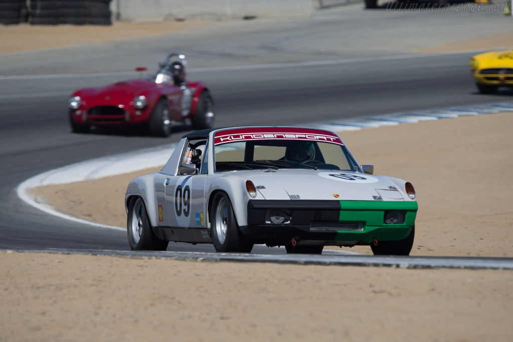 Porsche 914/6 GT - Chassis: 914 043 2014 - Driver: Hans Lapine  - 2014 Monterey Motorsports Reunion