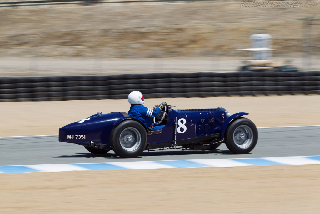 Riley Brooklands Special - Chassis: 6027202 - Driver: Richard Jeffery  - 2014 Monterey Motorsports Reunion