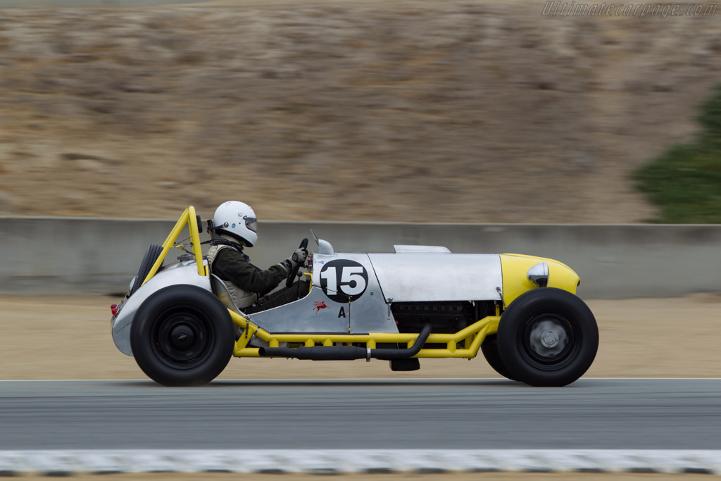 Streets Manning Special - Chassis: SMI - Driver: Robert Manson  - 2014 Monterey Motorsports Reunion