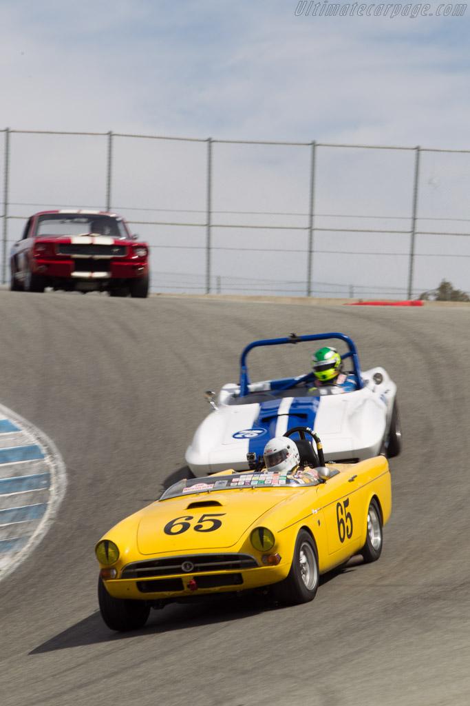 Sunbeam Tiger - Chassis: B382000903 - Driver: Tom Sakai  - 2014 Monterey Motorsports Reunion