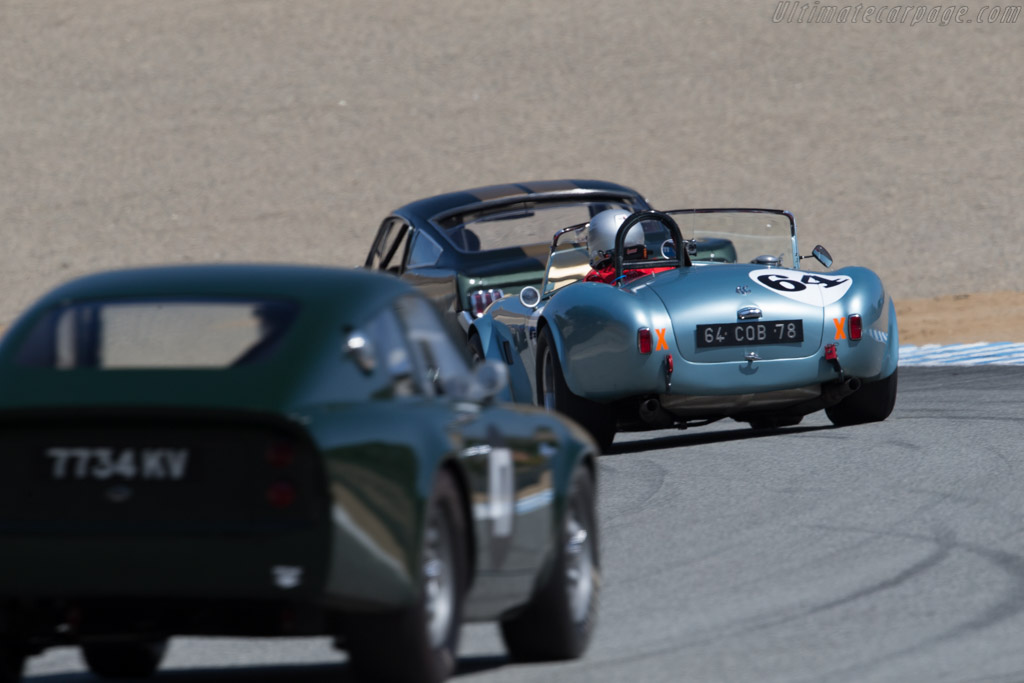 AC Shelby Cobra  - Driver: Phil Mulacek  - 2015 Monterey Motorsports Reunion