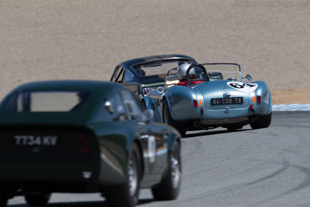AC Shelby Cobra  - Driver: Phil Mulacek  - 2015 Monterey Motorsports Reunion
