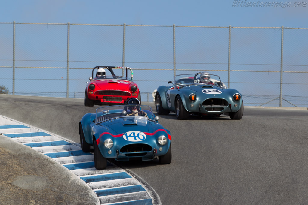 AC Shelby Cobra FIA Roadster - Chassis: CSX2323 - Driver: Chris MacAllister  - 2015 Monterey Motorsports Reunion