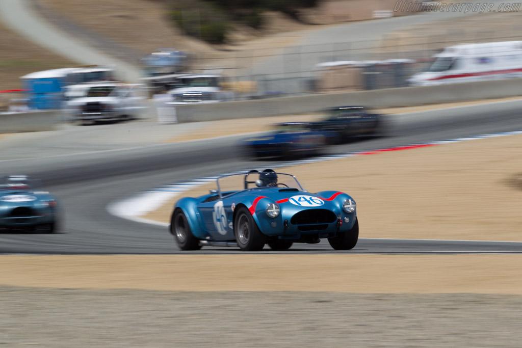 AC Shelby Cobra FIA Roadster - Chassis: CSX2323 - Driver: Chris MacAllister  - 2015 Monterey Motorsports Reunion