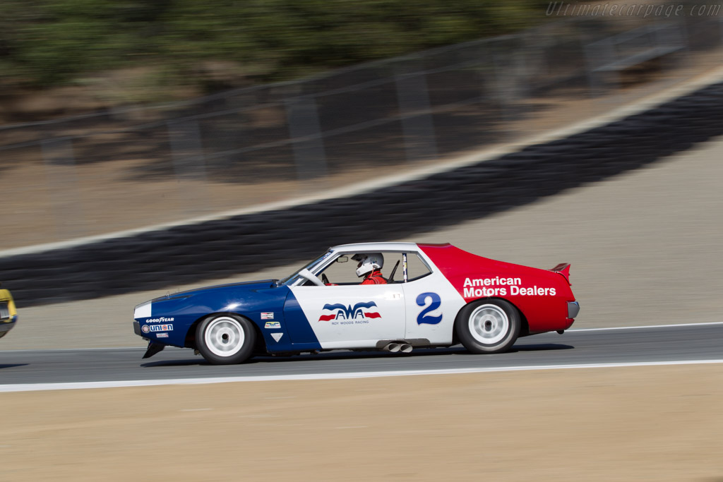 AMC Javelin  - Driver: Ken Epsman  - 2015 Monterey Motorsports Reunion