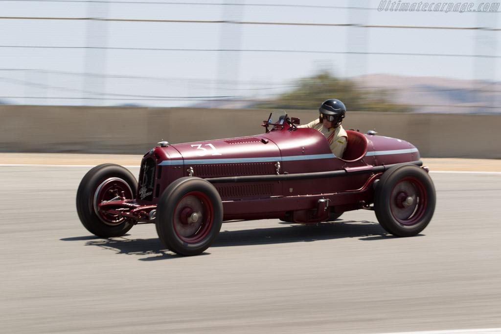 Alfa Romeo 8C 2300 Monza - Chassis: 2111037 - Driver: Peter Giddings  - 2015 Monterey Motorsports Reunion