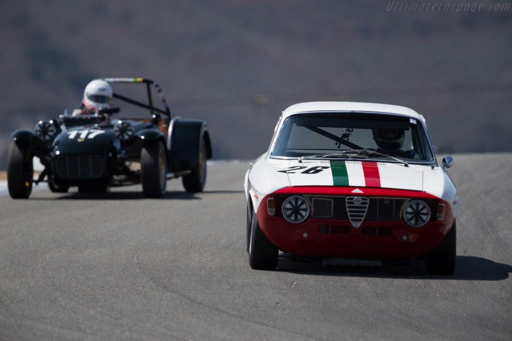 Alfa Romeo Giulia GTA - Chassis: AR613980 - Driver: Andre Lara Resende  - 2015 Monterey Motorsports Reunion