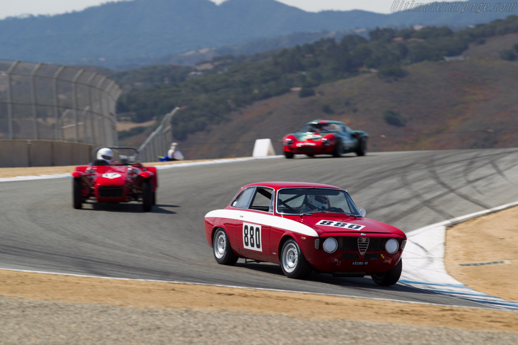 Alfa Romeo Giulia GTA    - 2015 Monterey Motorsports Reunion