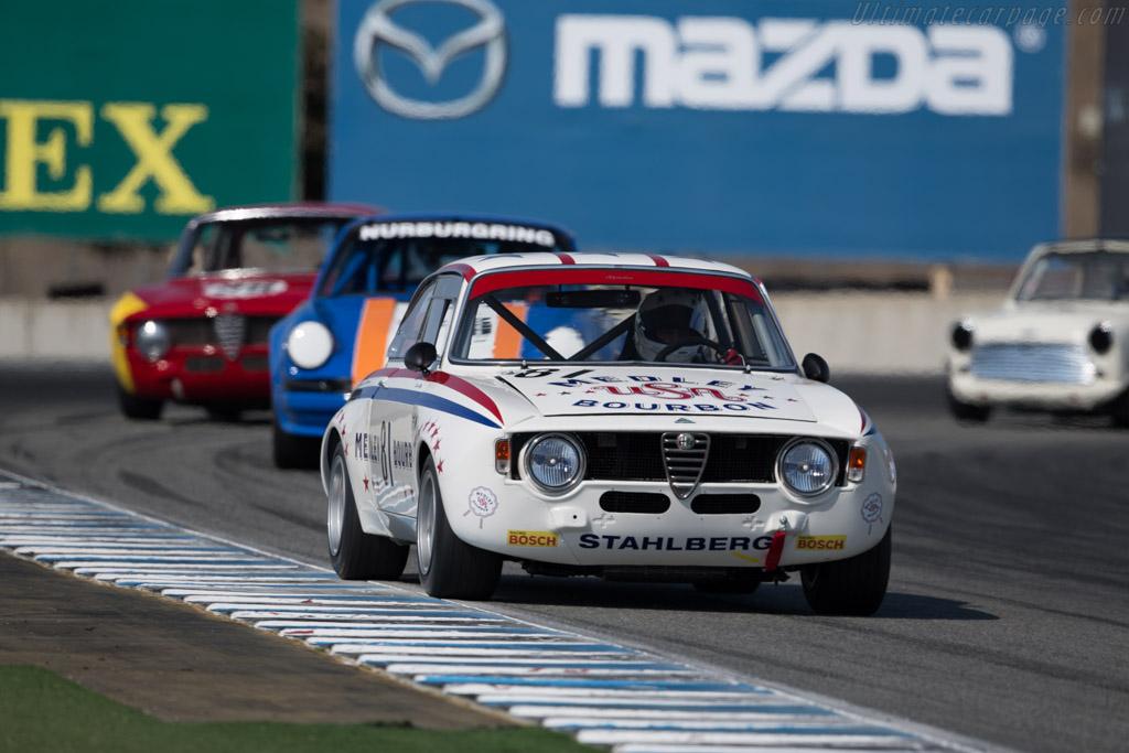 Alfa Romeo Giulia GTA - Chassis: AR613834 - Entrant: Bill Byrne - Driver: Patrick Byrne  - 2015 Monterey Motorsports Reunion