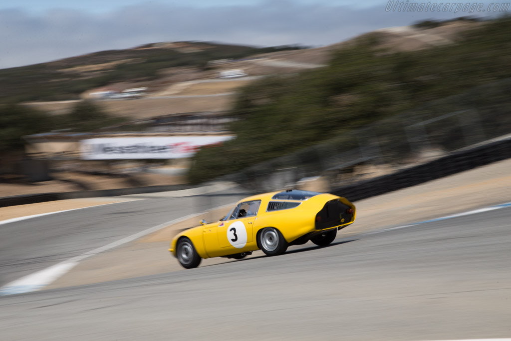 Alfa Romeo TZ - Chassis: AR10511 750008 - Entrant: Larry Auriana - Driver: Joe Colasacco - 2015 Monterey Motorsports Reunion
