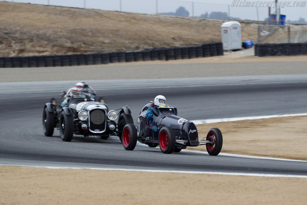 Austin 7 Special  - Driver: Michael Gertner  - 2015 Monterey Motorsports Reunion