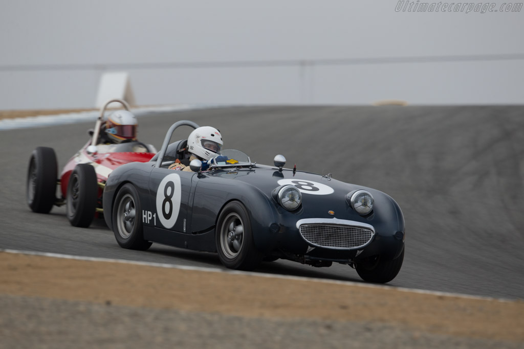 Austin Healey Sprite - Chassis: AN5/3253 - Driver: Peter Smith  - 2015 Monterey Motorsports Reunion