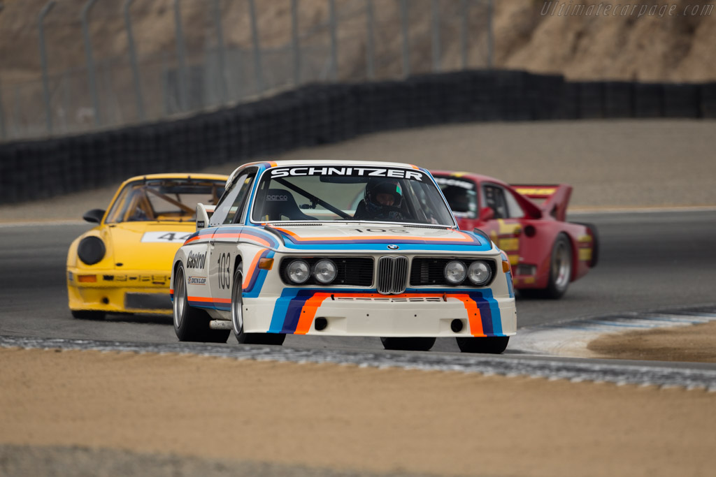 BMW 3.5 CSL - Chassis: 2203281 - Driver: Thor Johnson  - 2015 Monterey Motorsports Reunion