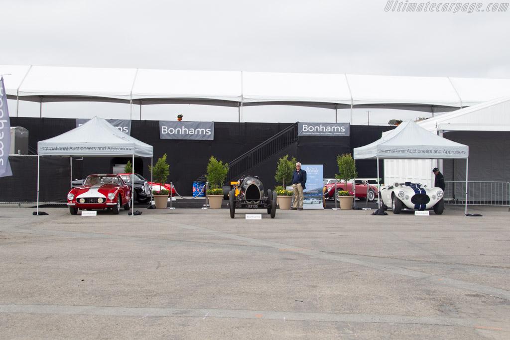 Bonhams marquee    - 2015 Monterey Motorsports Reunion