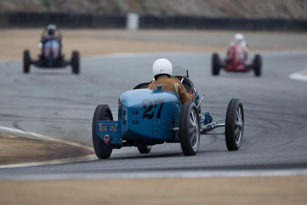 Bugatti Type 35 - Chassis: 4572 - Driver: Jan Voboril  - 2015 Monterey Motorsports Reunion