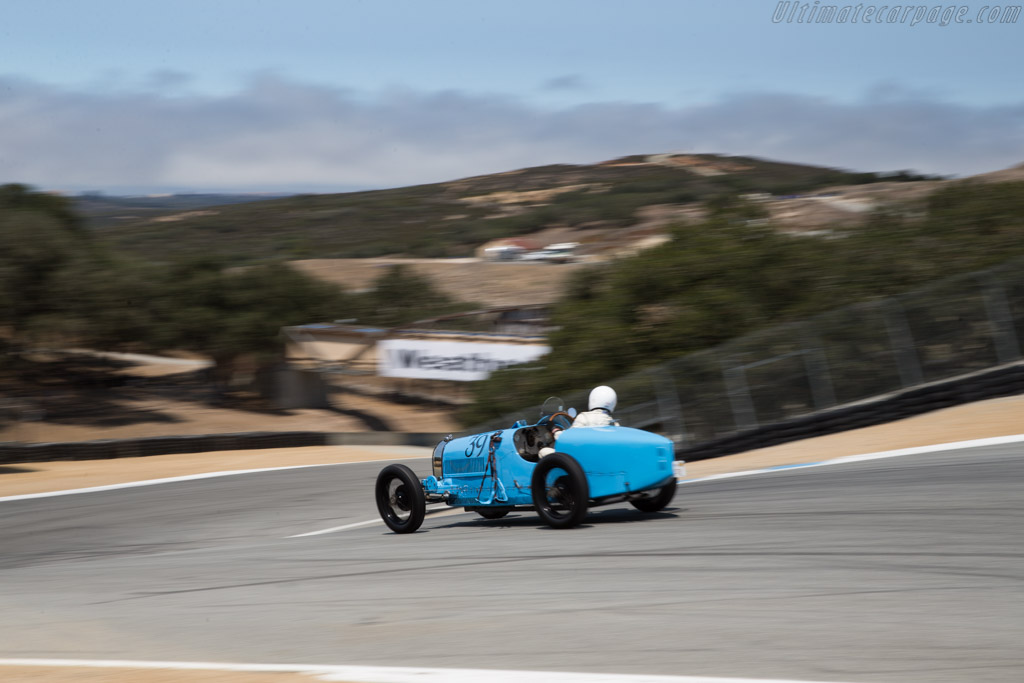 Bugatti Type 39A - Chassis: 4810 - Driver: Charlie Shalvoy  - 2015 Monterey Motorsports Reunion