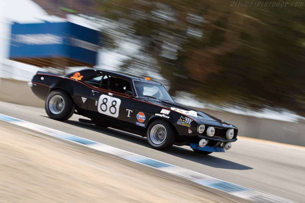 Chevrolet Camaro - Chassis: 124379N594557 - Driver: Gregor Johnson  - 2015 Monterey Motorsports Reunion