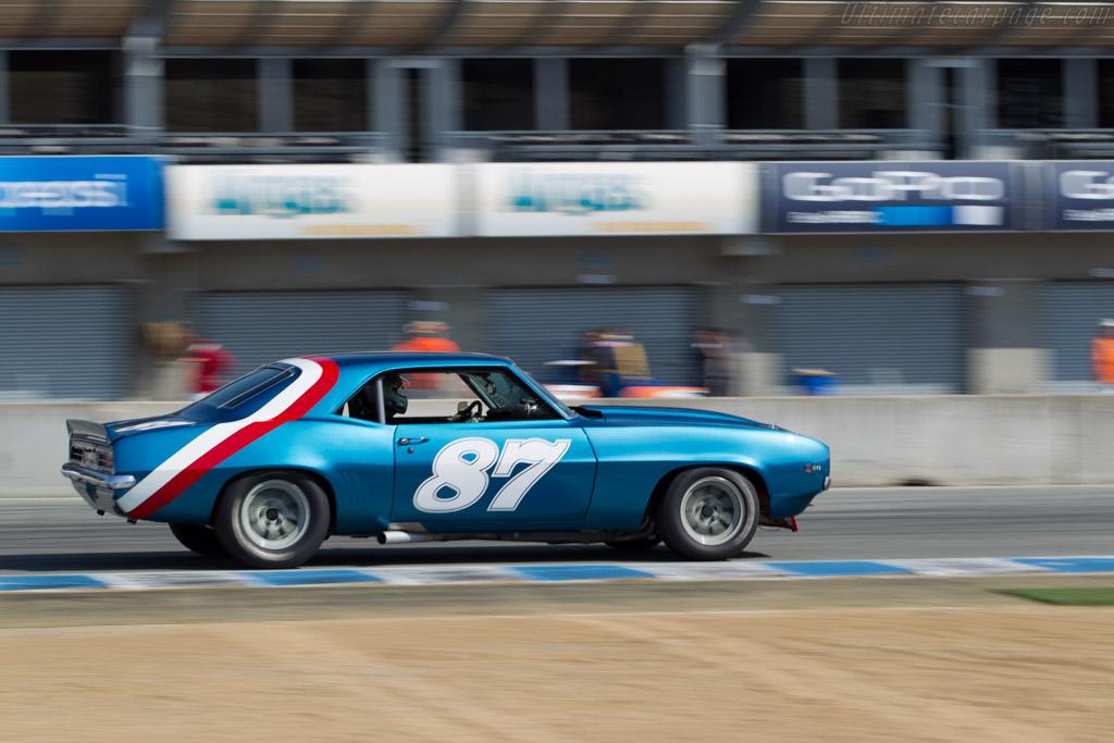 Chevrolet Camaro Z/28 - Chassis: Petersen-1 - Driver: Alexander Motola  - 2015 Monterey Motorsports Reunion