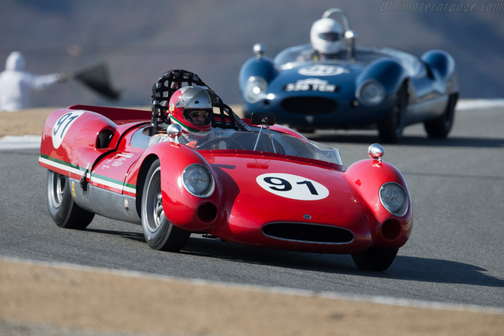Cooer Monaco - Chassis: CM-5-62 - Driver: Fred Burke  - 2015 Monterey Motorsports Reunion