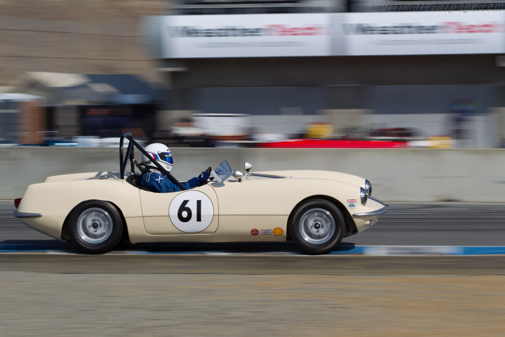 Elva Courier Mk II  - Driver: William Kirkwood  - 2015 Monterey Motorsports Reunion