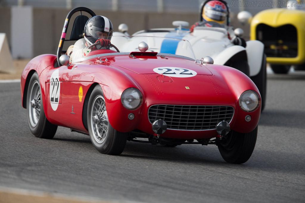 Ferrari 500 Mondial - Chassis: 0408MD - Driver: Jeffrey Abramson  - 2015 Monterey Motorsports Reunion