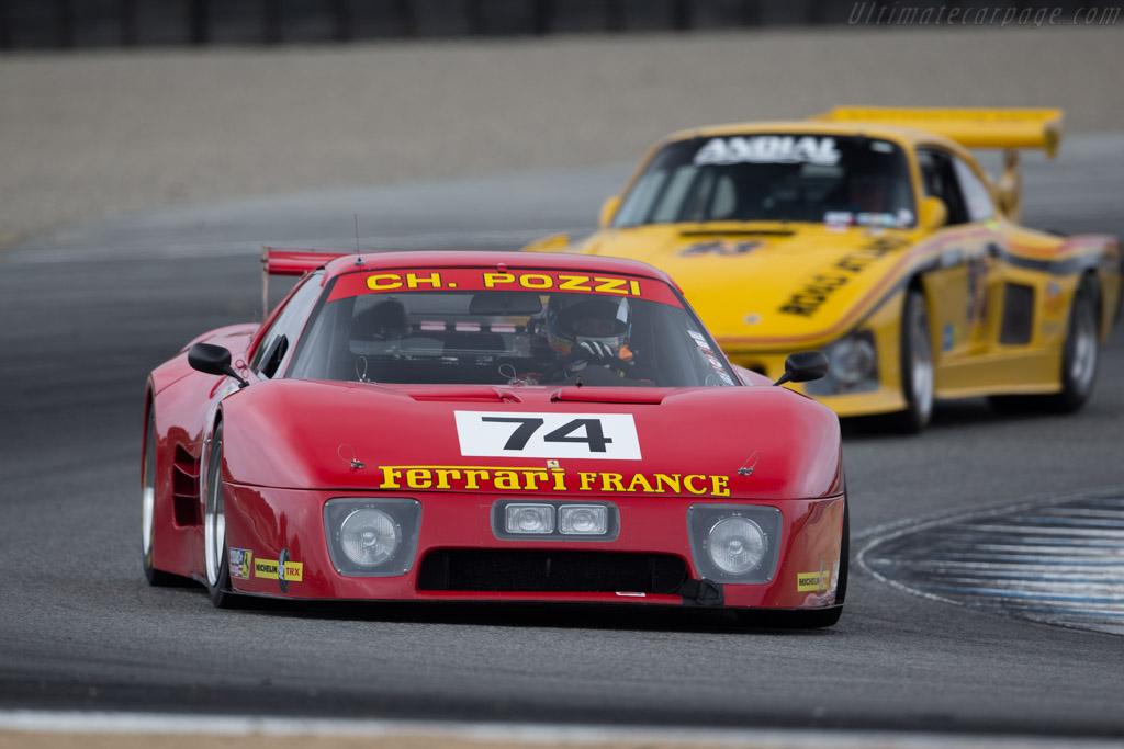 Ferrari 512 BB LM - Chassis: 31589 - Entrant: Lawrence Stroll - Driver: Jeffrey Segal  - 2015 Monterey Motorsports Reunion