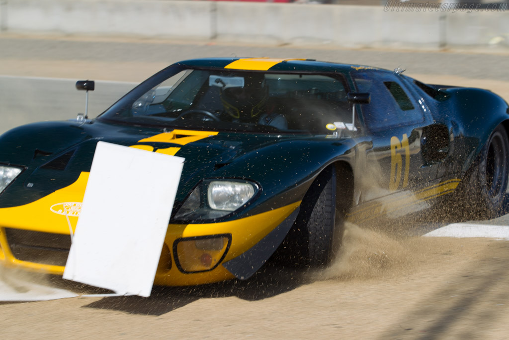 Ford GT40 - Chassis: GT40P/1061 - Driver: Jim Click  - 2015 Monterey Motorsports Reunion