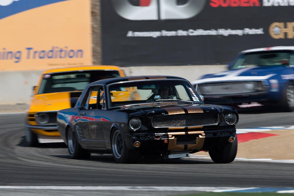 Ford Mustang  - Driver: Ken Epsman  - 2015 Monterey Motorsports Reunion