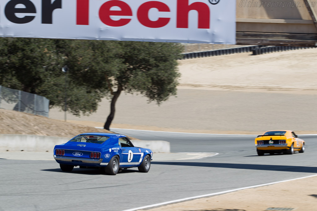 Ford Mustang Boss 302 - Chassis: 9F02M14628 - Driver: Jim Click  - 2015 Monterey Motorsports Reunion