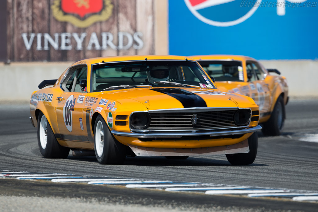 Ford Mustang Boss 302  - Entrant: Ken Epsman - Driver: Jim Hague  - 2015 Monterey Motorsports Reunion