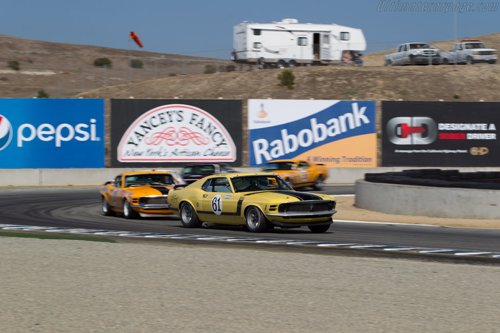 Ford Mustang Boss 302 - Chassis: 0F026144375 - Driver: Jim Halsey  - 2015 Monterey Motorsports Reunion
