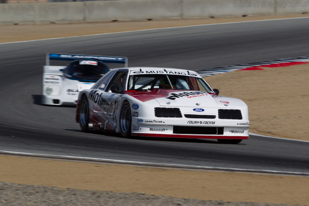 Ford Mustang Roush - Chassis: 008 - Driver: Zak Brown  - 2015 Monterey Motorsports Reunion