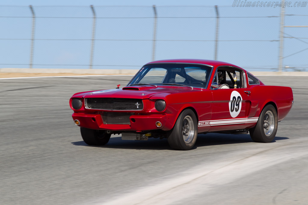 Ford Shelby Mustang GT350 - Chassis: SFM6S1532 - Driver: Brad Oldenbrock  - 2015 Monterey Motorsports Reunion