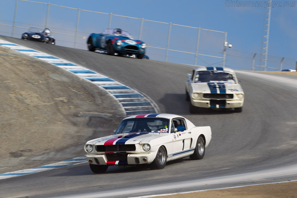 Ford Shelby Mustang GT350 - Chassis: SFM6S031 - Entrant: Bert Skidmore - Driver: Tommy Steuer  - 2015 Monterey Motorsports Reunion