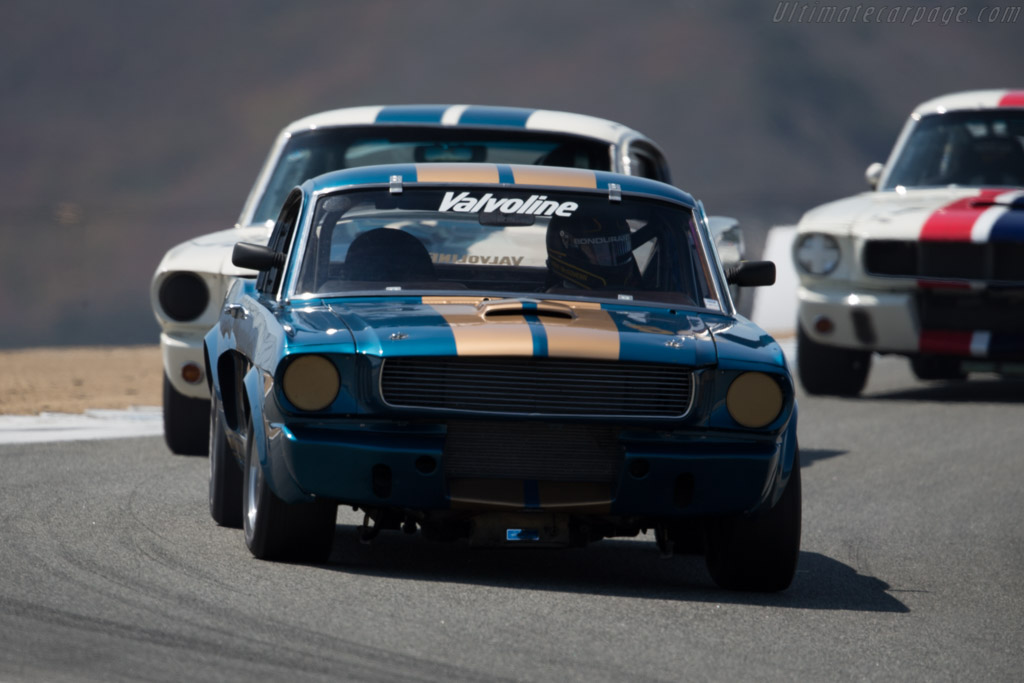 Ford Shelby Mustang GT350 - Chassis: SFM6S1181 - Entrant: Jim Click - Driver: Mike McGovern  - 2015 Monterey Motorsports Reunion