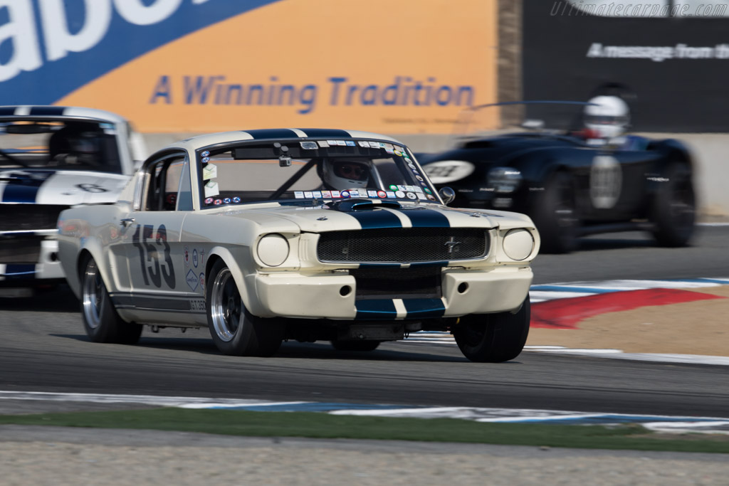 Ford Shelby Mustang GT350 - Chassis: SFM5S153 - Driver: Jim Halsey  - 2015 Monterey Motorsports Reunion